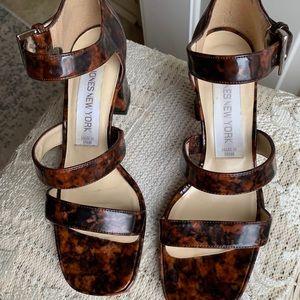 Jones New York Leopard Shoes, Vintage